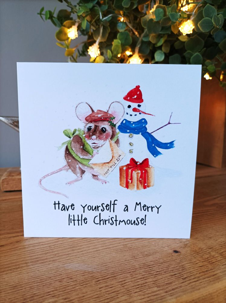 Have yourself a Merry little Christmouse!