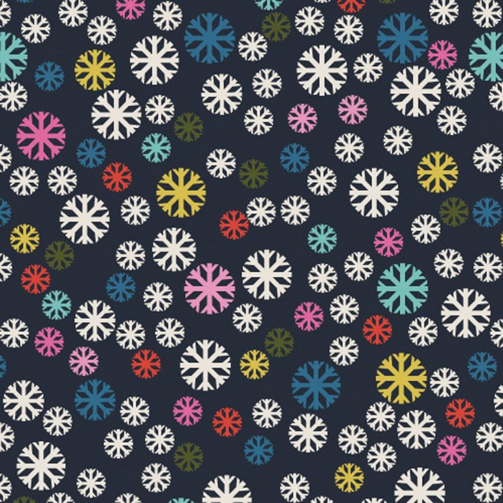 PRE ORDER Dashwood - Merry & Bright Snowflake 100% Cotton Fabric - MERR1501