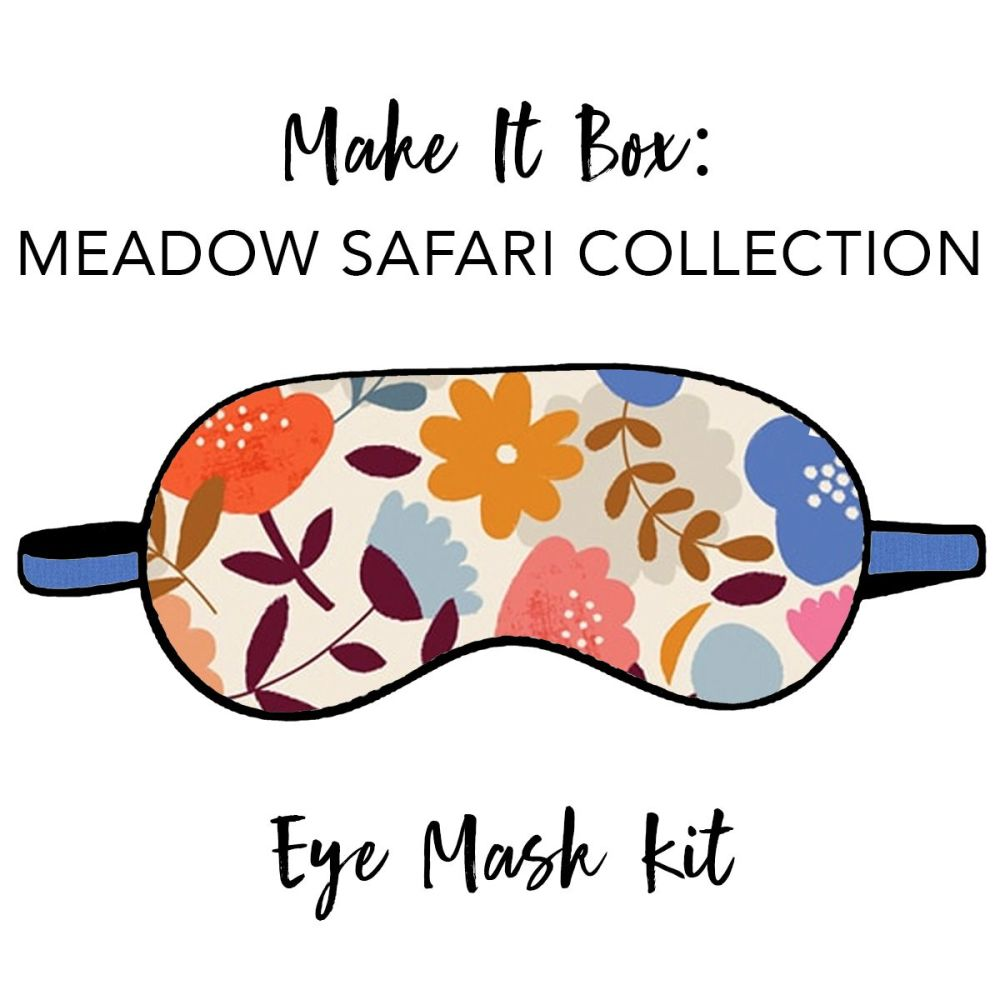 Make It Box - Eye Mask Kit - Meadow Safari