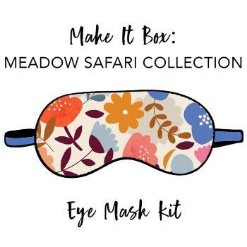 Make It Box - Eye Mask Kit - Meadow Safari