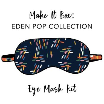 Make It Box - Eye Mask Kit - Eden Pop Dashes
