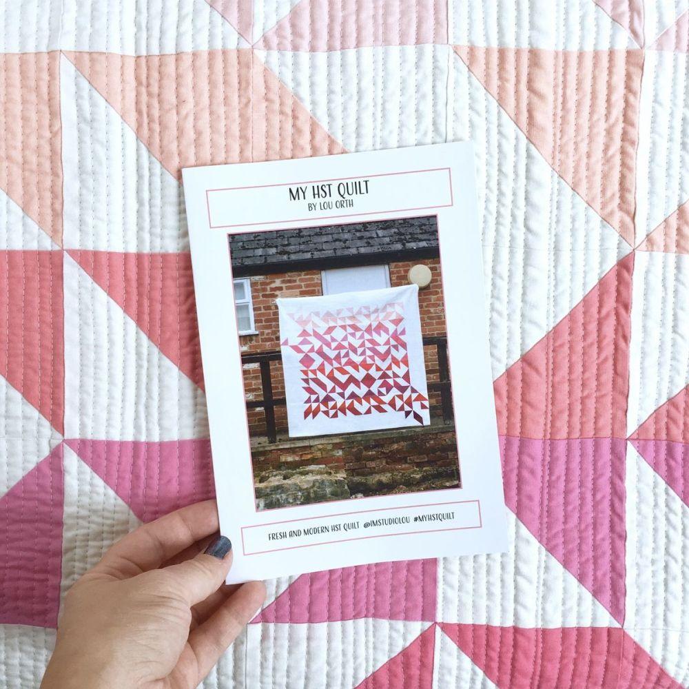 Lou Orth Design - HST Quilt Paper Pattern