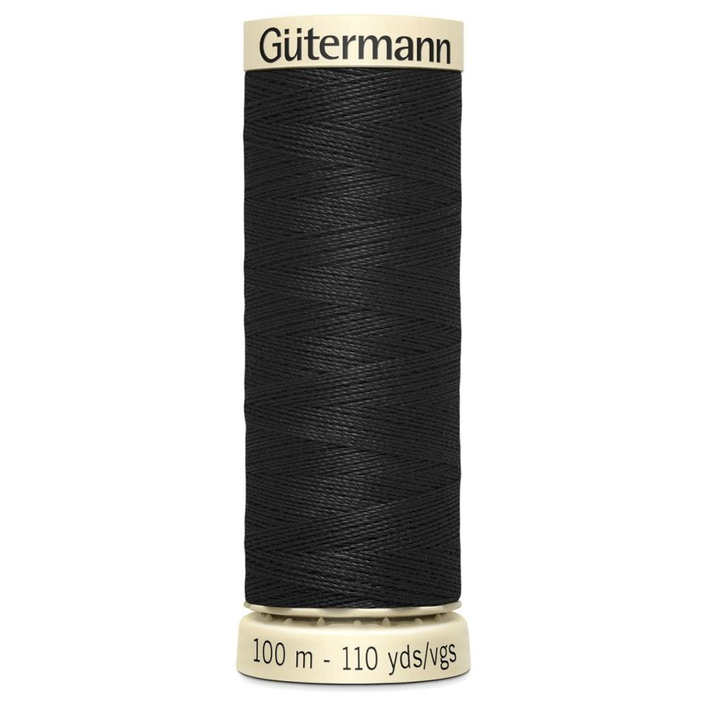 Gutermanns 100m Sew All Thread - Black