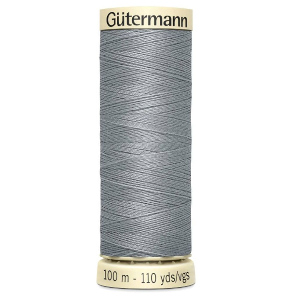 Gutermanns 100m Sew All Thread - Light Grey