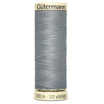Gutermann 100m Sew All Thread - Grey