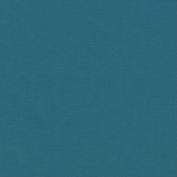 Robert Kaufman - Kona 100% Cotton Fabric - K1373 - Teal Blue