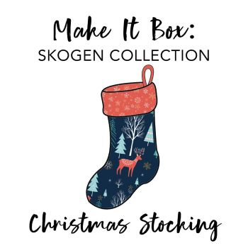 Make It Box - Christmas Stocking - Skogen