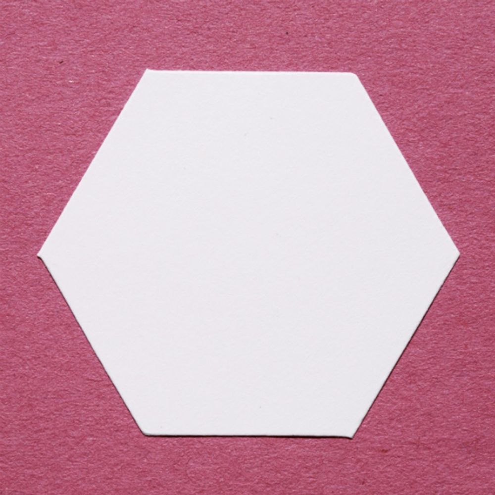 English Paper Piecing - Classic Hexagons -Pack 100