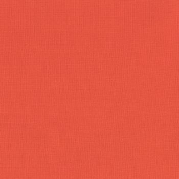 Robert Kaufman - Kona 100% Cotton Fabric - K1087 - Coral