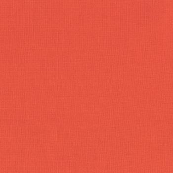 Robert Kaufman - Kona 100% Cotton Fabric - K1087 - Coral
