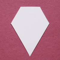 English Paper Piecing - 1.5 inch 60 Degree Jewel - Pack 100