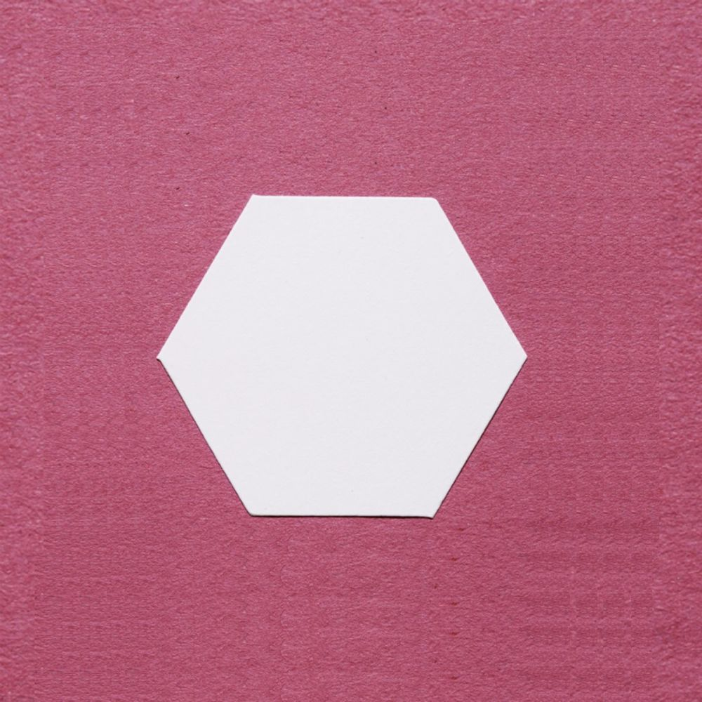 English Paper Piecing - 0.75 inch Hexagons - Pack 100