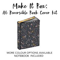 Make It Box - Reversible A6 Book/Diary Cover Kit - Colour Options Available