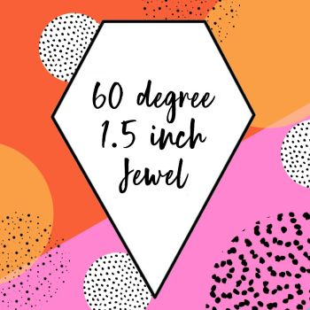 English Paper Piecing - 60 Degree Jewel - Pack 120