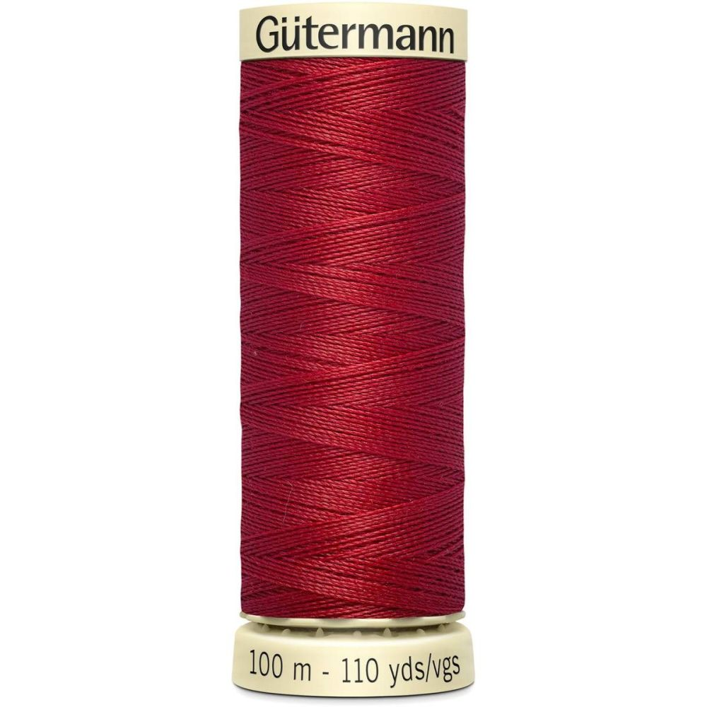 Gutermann 100m Sew All Thread - Dark Red