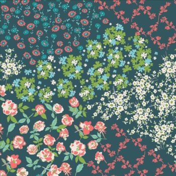 Art Gallery Fabrics - Everlasting 100% Cotton Fabric - Flower Keeper - Per Half Metre
