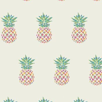 Art Gallery Fabrics - Hello Sunshine 100% Cotton Fabric - Pina Colada