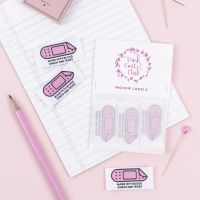 Pink Coat Club 'Made From Blood, Sweat & Tears' Sewing Labels - Pack of 6
