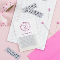 Pink Coat Club 'Sewing Is My Self Care' Sewing Labels - Pack of 6
