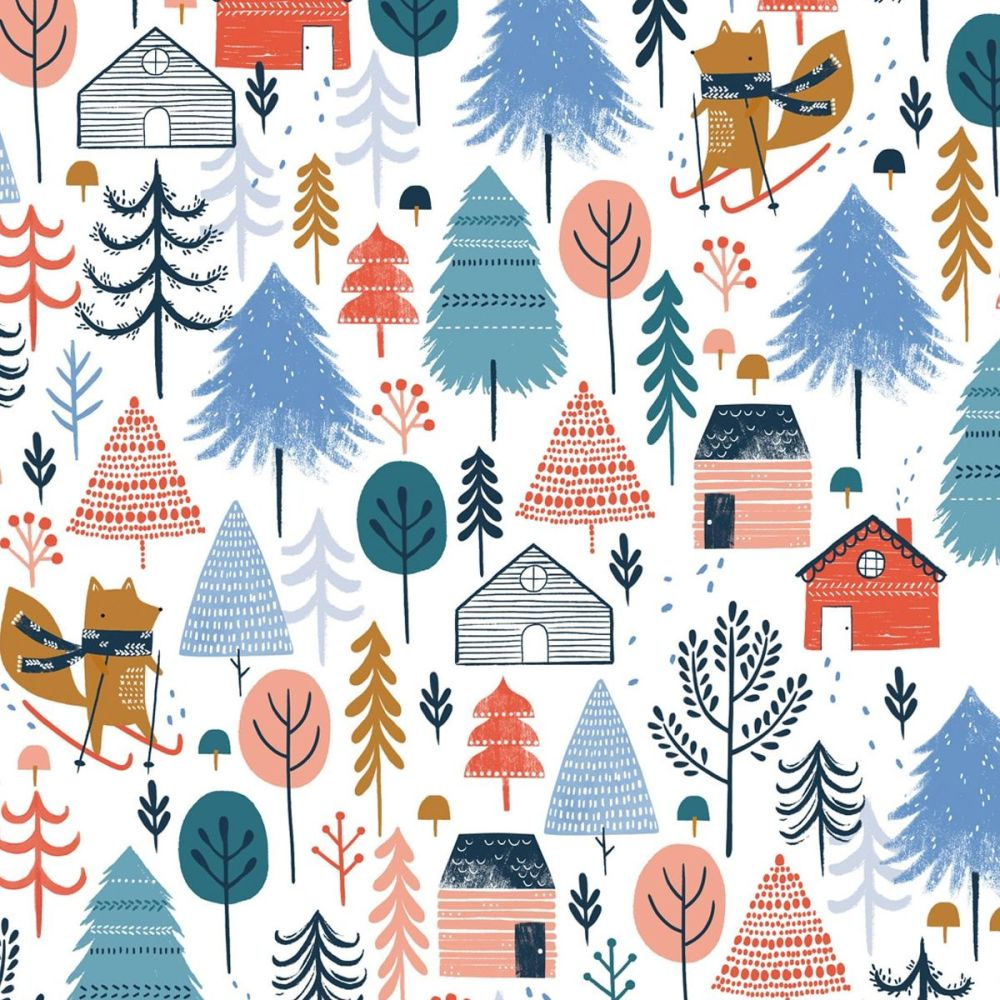 Dashwood - Snow Much Fun 100% Cotton Fabric - Multi