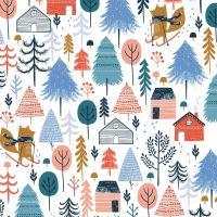 Dashwood - Snow Much Fun 100% Cotton Fabric - Multi