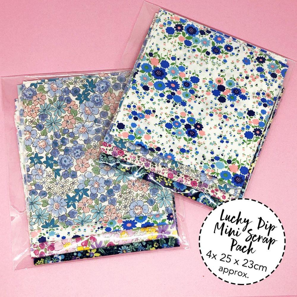 Lucky Dip Sevenberry - Petite Garden Cotton Mini Scrap Pack