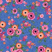 Blank Quilting - Marisol 100% Cotton Fabric - Blue Floral