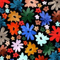 Michael Miller - Ink Unleashed 100% Cotton Fabric - Wild Daisy
