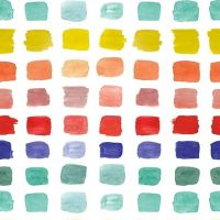 Michael Miller - Ink Unleashed 100% Cotton Fabric - Beautiful Palette