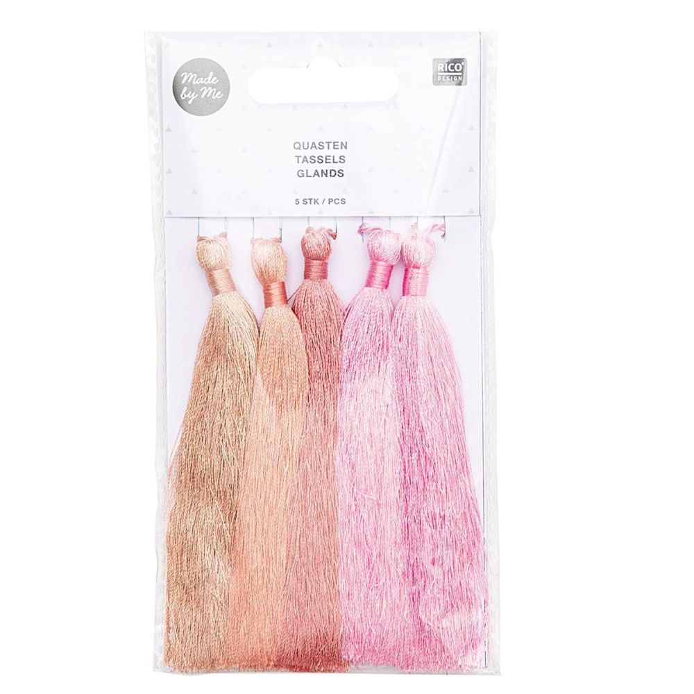 Tassel Set of 5 Pieces - Rose