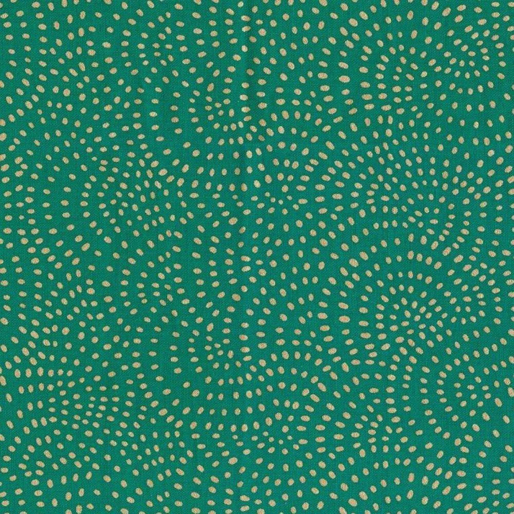 Dashwood Studios - Twist 100% Cotton Fabric - TWIS1155 - Green Metallic
