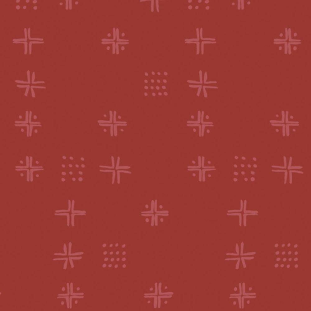 Art Gallery Fabrics - Kismet 100% Cotton Fabric - Mudcloth Berries