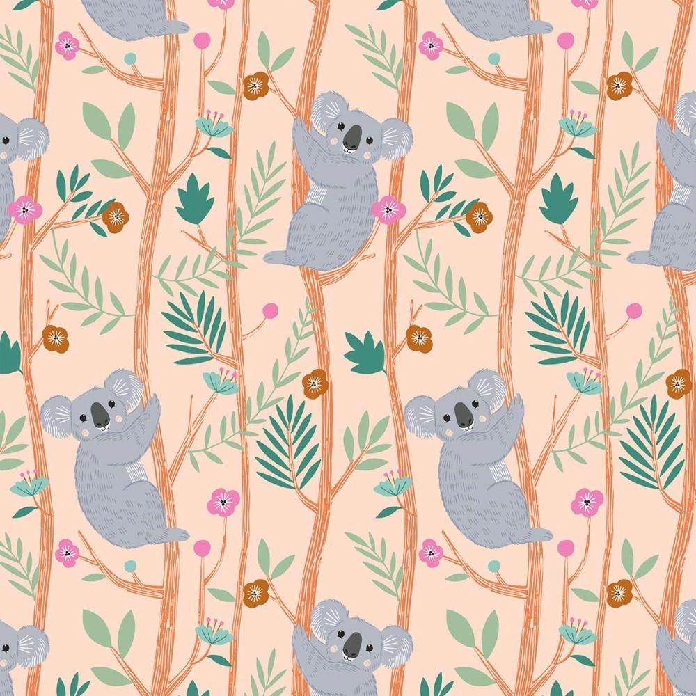 Dashwood Studio - Our Planet 100% Cotton Fabric - Koalas