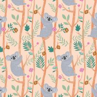 Dashwood Studio - Our Planet 100% Cotton Fabric - Koalas