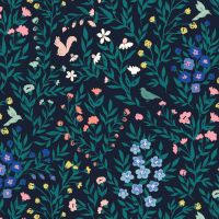 Cloud 9 - Perennial 100% Organic Cotton Fabric - Fauna