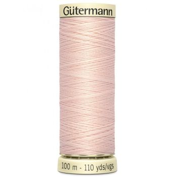 Gutermann 100m Sew All Thread - 658 - Pale Pink