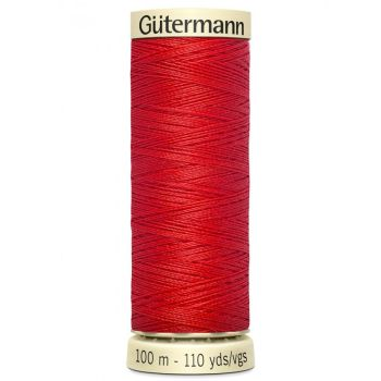 Gutermann 100m Sew All Thread - 364 - Bright Red