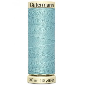 Gutermann 100m Sew All Thread - 331 - Dusky Aqua