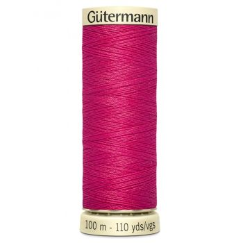 Gutermann 100m Sew All Thread - 382 - Cherry Pink
