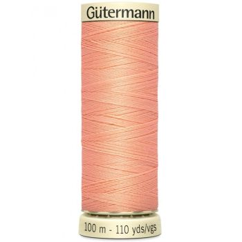 Gutermann 100m Sew All Thread - 586 - Coral Peach