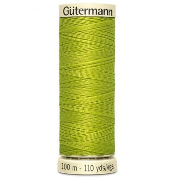 Gutermann 100m Sew All Thread - 616 - Lime Green