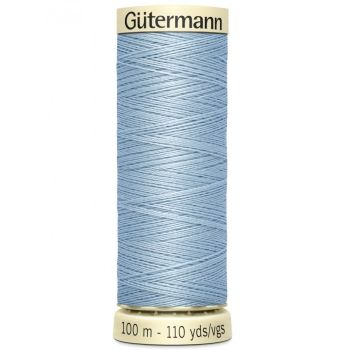 Gutermann 100m Sew All Thread - 75 - Pale Blue