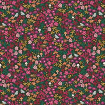 Art Gallery Fabrics - Flower Society 100% Cotton Fabric - Striking Gardernista