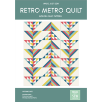 Retro Metro Quilt Pattern - PDF Instant Download