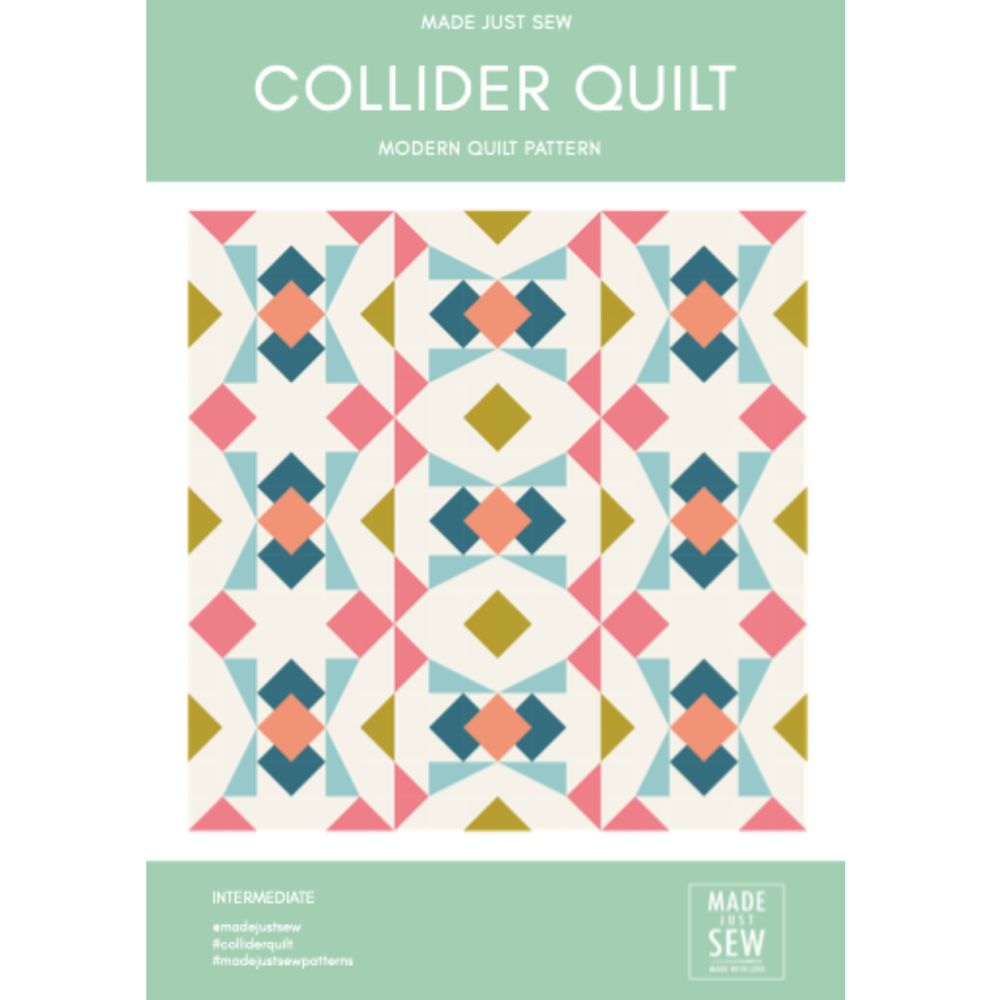 Collider Quilt Pattern - PDF Instant Download
