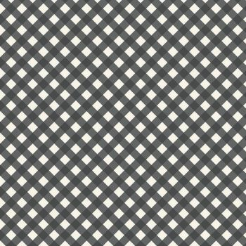 Riley Blake - Gingham Garden 100% Cotton Fabric - Charcoal Check
