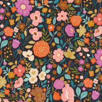 Dashwood Studios - Good Vibes 100% Cotton Fabric - Floral