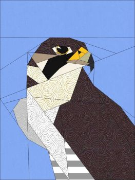 The Peregrine Block Pattern - PDF Instant Download
