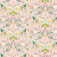 Dashwood Studio - Hedgerow 100% Cotton Fabric - Butterflies & Moths