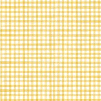 Riley Blake - Beautiful Day 100% Cotton Fabric - Yellow Gingham